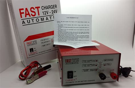 Charger Accu Lawren Fast Charger 12v 24v Automatic Le 258 charger accu fast terbaru charger aki voltase harga jual