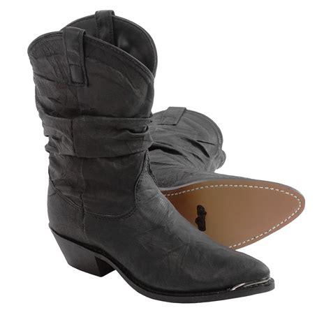 dingo cowboy boots for dingo j toe slouch cowboy boots for 120km save 75