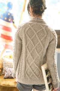 This beautiful berroco aidez cable cardigan again features diamond