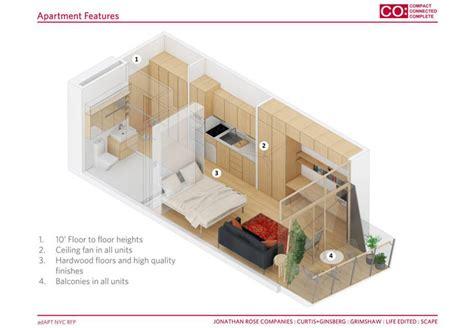 micro living spaces jonathan rose s micro apartment complex balances tiny
