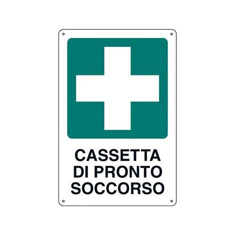 cartello cassetta pronto soccorso cartello cassetta pronto soccorso 33x43 cm giemmeargenta it