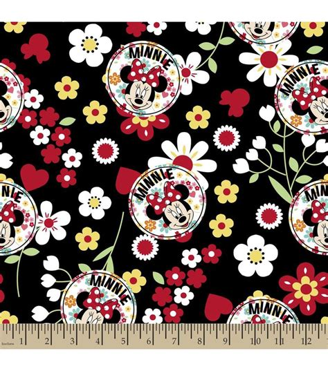 pattern work mandala minnie mouse head by joanne disney 174 minnie floral toss cotton fabric tossed