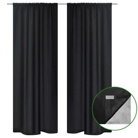 vorhang verdunkelung 2xgardine verdunkelung vorhang doppellagig
