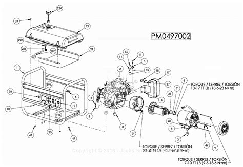 powermate formerly coleman pm0497002 parts diagram for