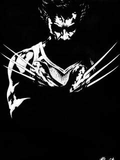 wolverine wallpaper hd black and white 1080p hd wallpapers