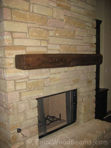 Wooden Beam Fireplace by Fireplace Mantel Design For A Home Faux Wood Workshop