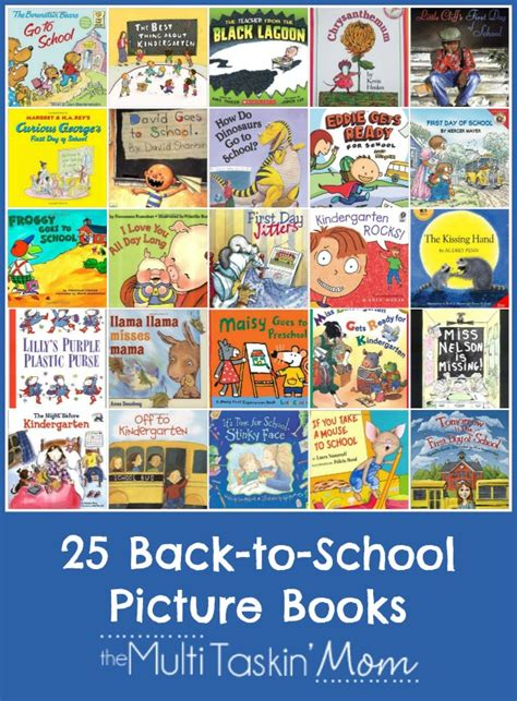Back To School Picture Books With Printable Reading Log