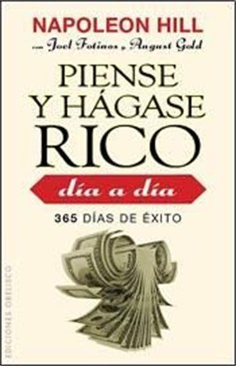 piense y hgase rico libros autoayuda hacia donde voy en la vida saulo hidalgo pinned by www limondulce com
