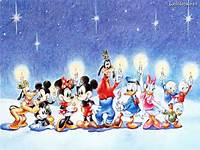 Disney Christmas  Wallpaper 32956752 Fanpop