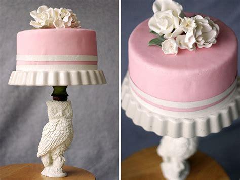 diy cake diy cake stand green wedding shoes weddings fashion