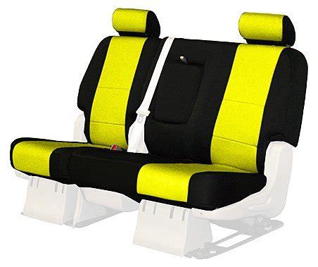 washing coverking neoprene seat covers custom fit coverking custom fit rear bench seat cover