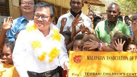 Human Development Jilid I malaysian high commissioner grateful to donors post courier