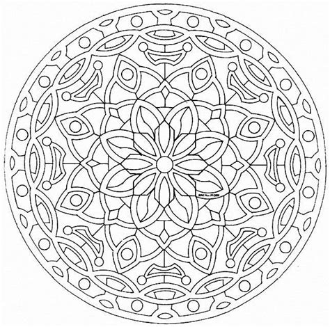 mandala coloring pages difficult free coloring pages of difficult mandala