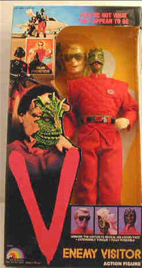 v figures v tv series gun visitor figure ljn