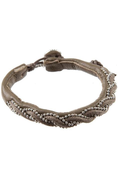 leather beaded bracelets hultquist classic beaded leather woven bracelet