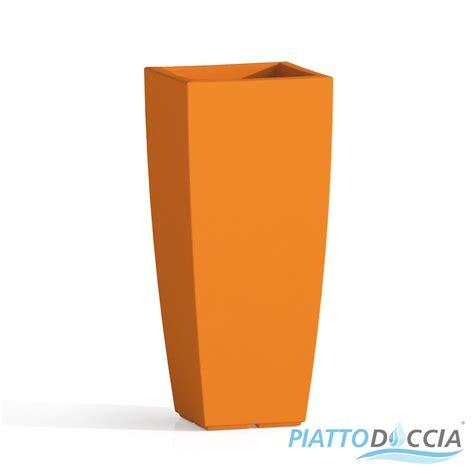 vaso resina vaso resina alto moderno quadrato plastica pianta giardino