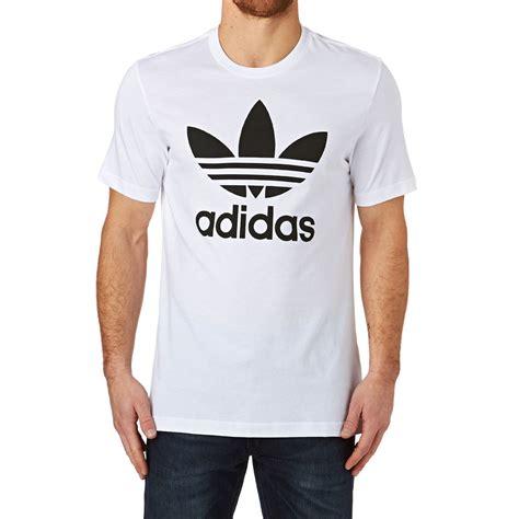 Tshirt Kaos Adidas Running Limited adidas originals trefoil t shirt white free delivery