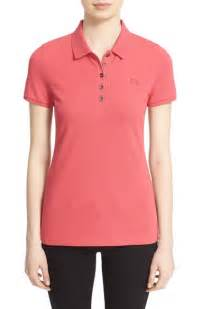 Burberry Sport Bu1378 Ora For 1 ora sports checked trews alongside bright pink polo shirt during walk daily