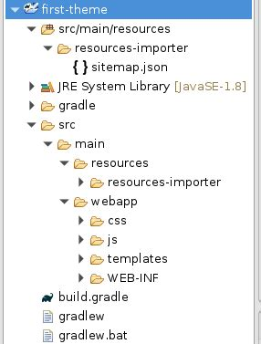 liferay themes exles java create a portlet inside of a custom theme in