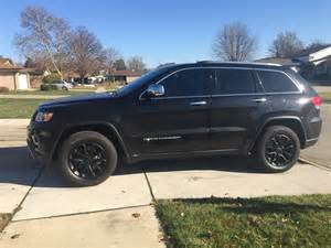 Black Jeep Grand Black Rims 2015 Jeep Grand Rims Matte Black Proplastidip