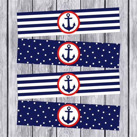 printable nautical labels 25 best ideas about baby bottle labels on pinterest