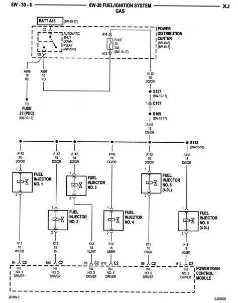 pcm for a 2000 jeep wiring diagram wiring