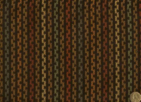 contemporary upholstery fabric woven zigzag chain black multi stripe modern contemporary