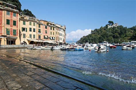 porto italiano italiano riviera portofino italia foto de stock imagem