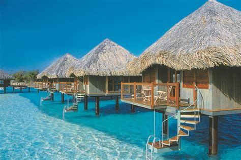 bungalow overwater in fiji islands yfgt sanctuaries and spas on tahiti holidays flight centre nz