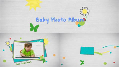 after effects free templates baby videohive baby photo after effects templates free