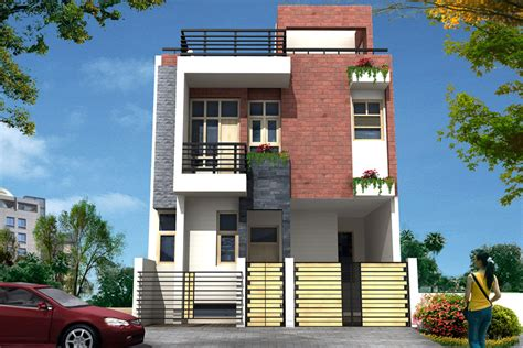 house elevation nisha creatives