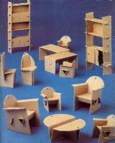 Cardboard Dolls House Furniture Templates by Diy Household Cardboard Furniture Ideas Diy Craft Ideas