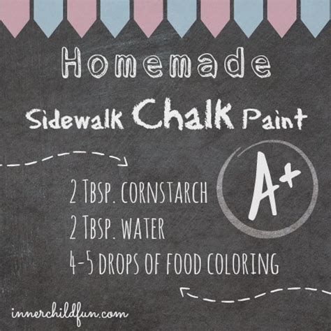 chalkboard paint using cornstarch ways to play during page 9 of 15 inner