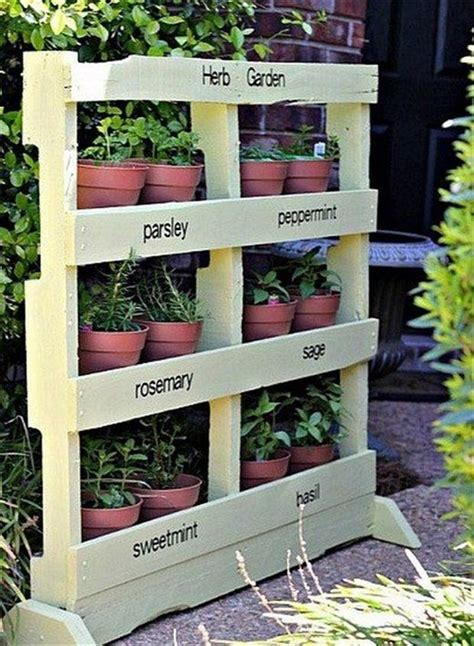 Indoor Herbal Garden by Amazing Uses For Old Pallets 40 Pics