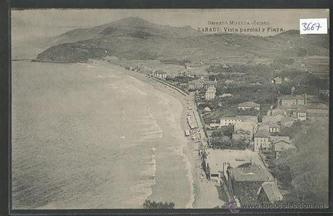 fotos antiguas zarautz zarautz vista parcial y playa p3667 comprar postales