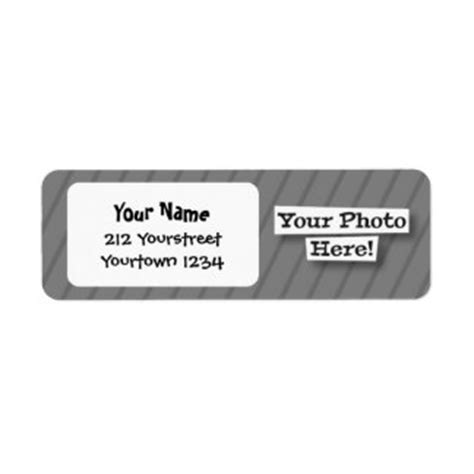 create your own return address labels templates zazzle