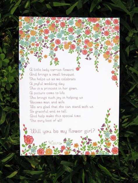 Flower Poem Wedding by Wedding Flowers Wedding Poems Flower