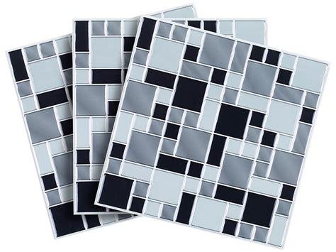 fliesenfolie schweiz infactory selbstklebende 3d mosaik fliesenaufkleber