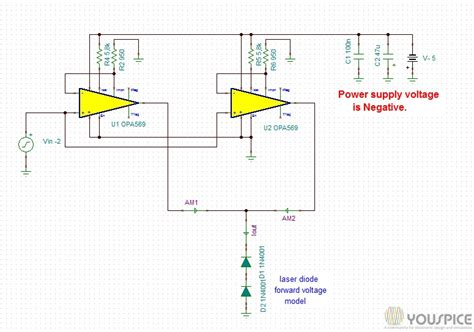 laser diode cathode anode laser diode anode grounded 28 images products archive page 4 of 66 youspice 4 ere cathode
