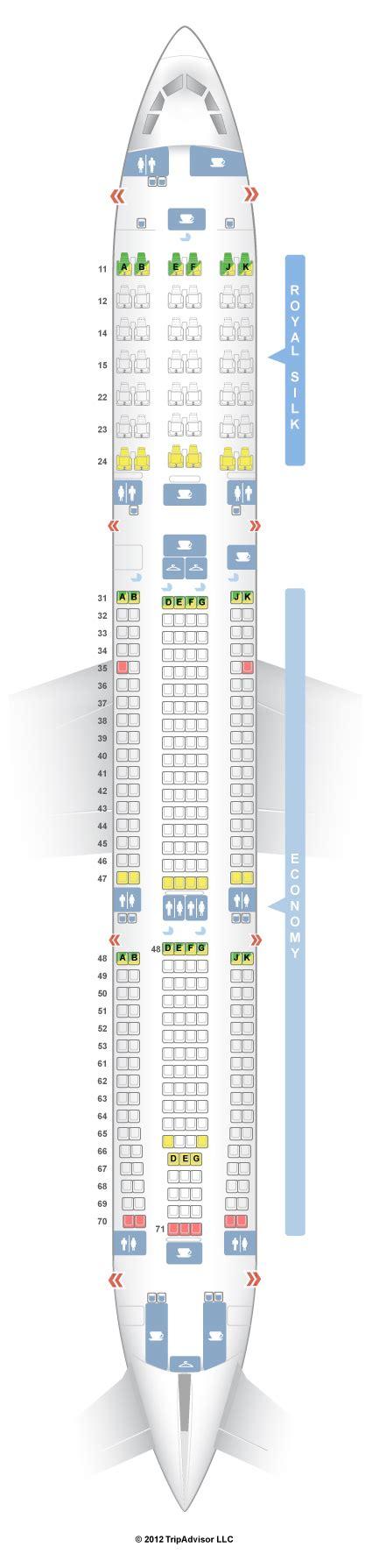 thai air a380 seat map seatguru seat map thai airbus a330 300 333 v2