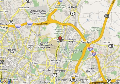 maryland map college park map of clarion inn college park college park