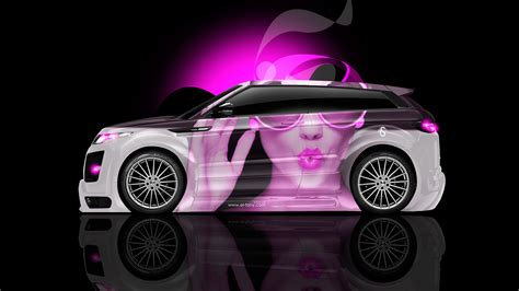 range rover pink wallpaper land rover evoque glamour aerography car 2014 el tony