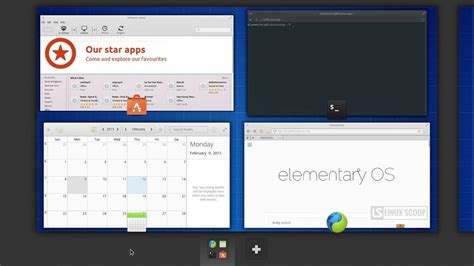 Elementary Os Freya Beta 1 Review Linux Scoop by Elementary Os 0 3 Freya Beta 2 Workspaces Linux Scoop