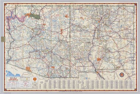map arizona new mexico