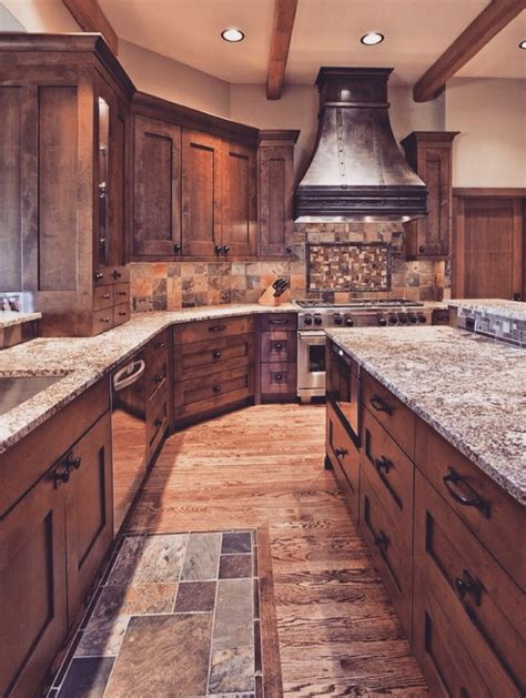 cabinets flooring and more 15 rustic kitchen cabinets designs ideas with photo