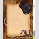 ... Cowboy Hat And Horseshoe. Royalty Free Stock Images - Image: 28465859