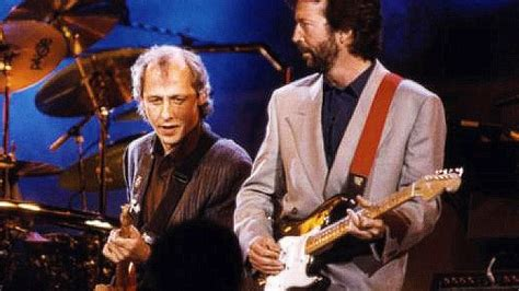 sultans of swing clapton worlds collide when eric clapton and knopfler join