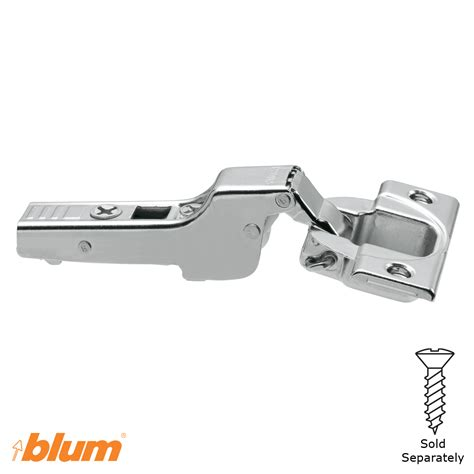 110 176 Blum Clip Top Half Cranked Screw On Hinge Walzcraft Blum Inset Hinge Template