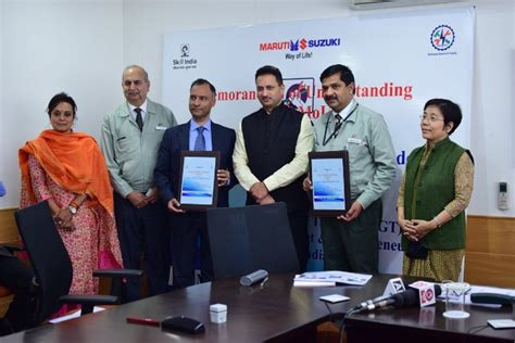 Mba In Maruti Suzuki by Maruti Suzuki Enter Into An Agreement To Support Skill