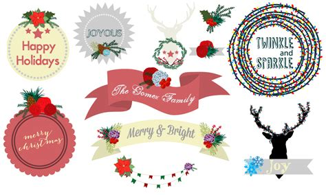 Free Christmas Banners Clip Art Download - A Simple Pantry Free Holiday Banner Clip Art